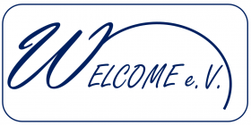 Logo WELCOME blue